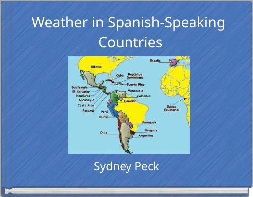 Speaking countries spanish Spanish Speaking