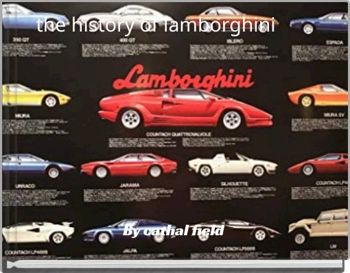 the history of lamborghini