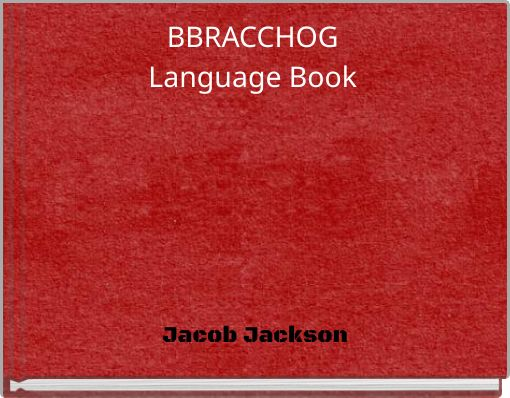 BBRACCHOGLanguage Book