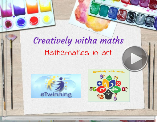 Book titled 'Creatively witha mathsMathematics in art'