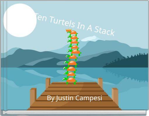 Ten Turtels In A Stack