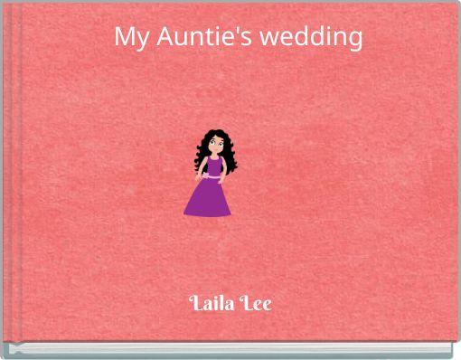 My  Auntie's wedding