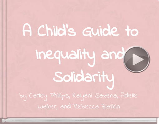 Book titled 'A Child's Guide to Inequality and Solidarity'