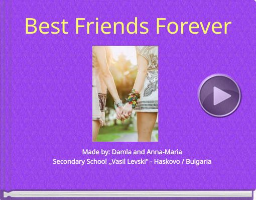 Book titled 'Best Friends Forever'