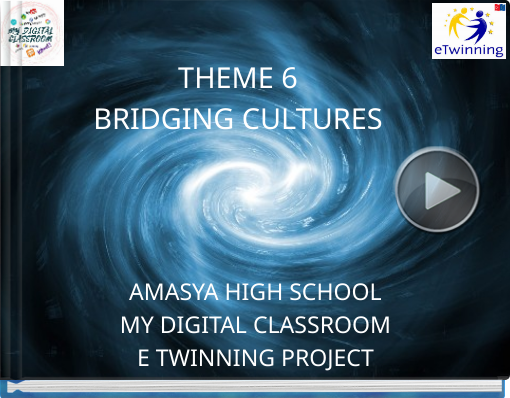 Book titled 'THEME 6BRIDGING CULTURES'