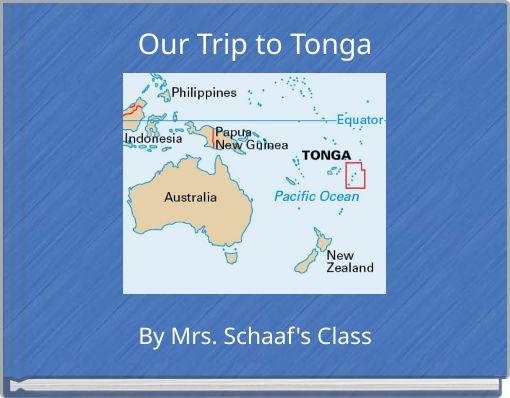 Our Trip to Tonga