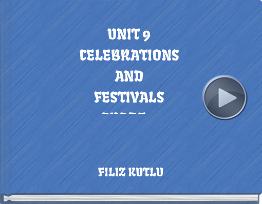Book titled 'UNIT 9CELEBRATIONSANDFESTIVALSGRADE 9'