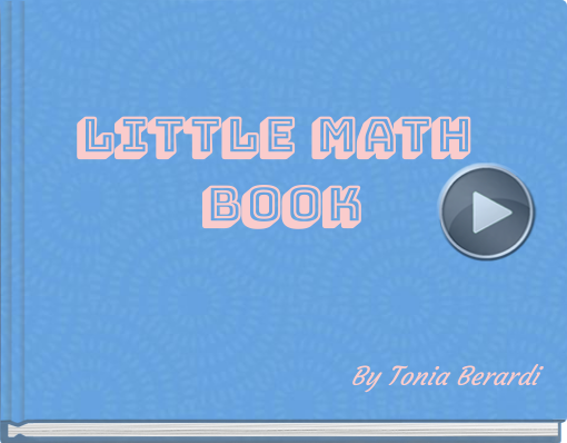 Book titled 'Little math book'