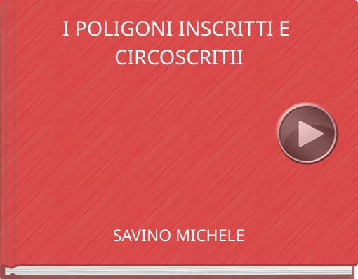 Book titled 'I POLIGONI INSCRITTI E CIRCOSCRITII'