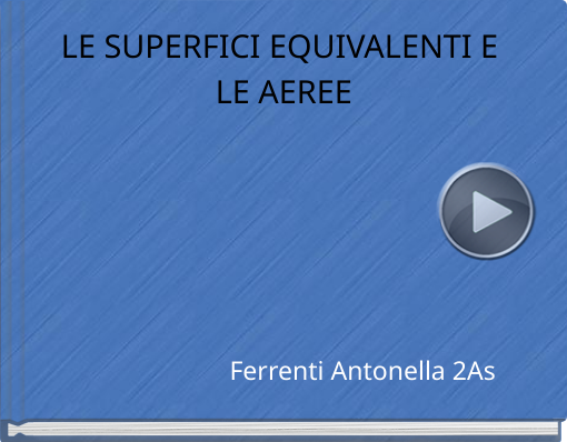 Book titled 'LE SUPERFICI EQUIVALENTI E LE AEREE'