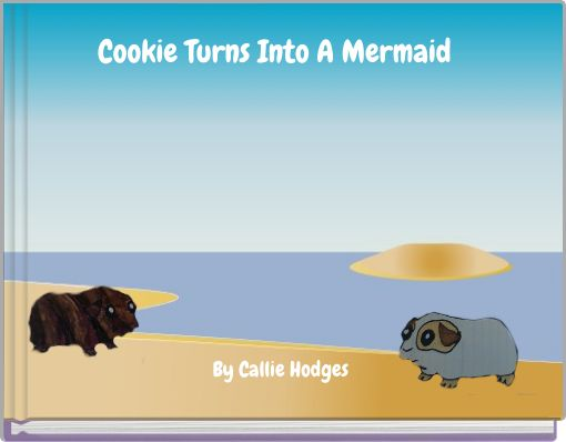 Cookie Turns Into A Mermaid