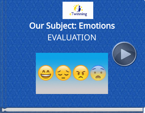 Book titled 'Our Subject: EmotionsEVALUATION'