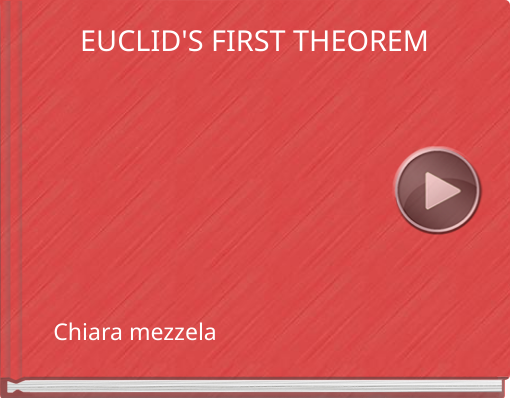 Book titled 'EUCLID'S FIRST THEOREM'