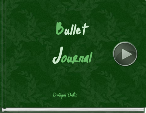 Book titled 'BulletJournal'