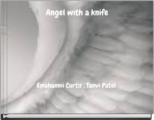 Angel with a knife