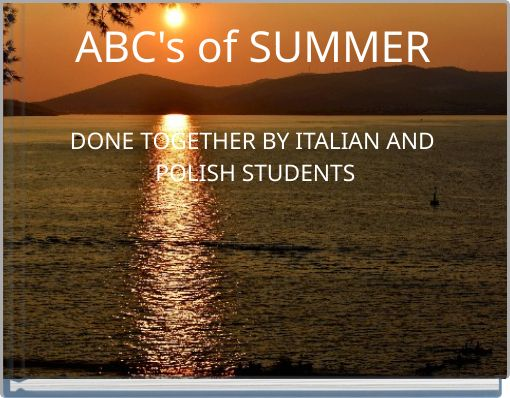ABC's of SUMMER