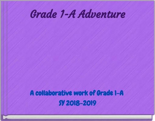 Grade 1-A Adventure