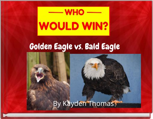 Golden Eagle vs. Bald Eagle