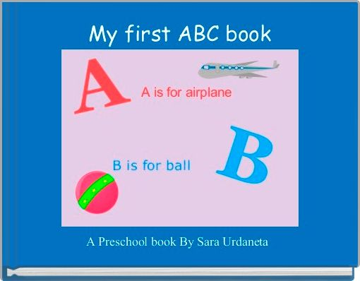 My first ABC book