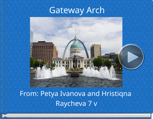 Book titled 'Gateway Arch'