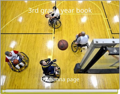 3rd grade year book