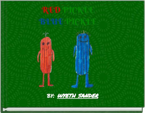 RED PICKLEBLUE PICKLE