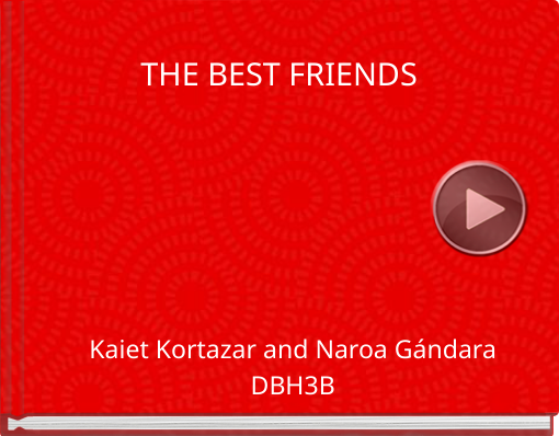 Book titled 'THE BEST FRIENDS'