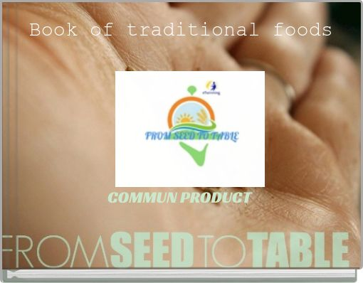 Book of traditional foods