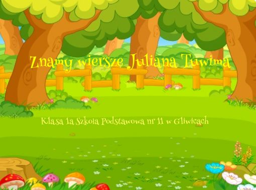 Znamy Wiersze Juliana Tuwima Free Books Childrens