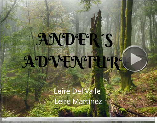 Book titled 'ANDER´S ADVENTURE'