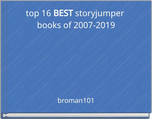top 16 BEST storyjumper books of 2007-2019