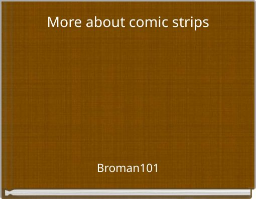 More about comic strips