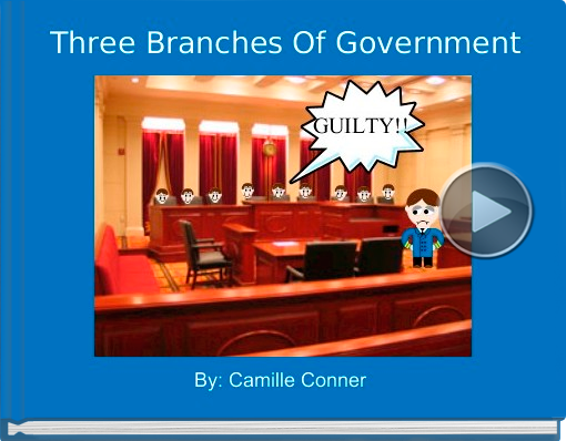 Book titled 'Three Branches Of Government'