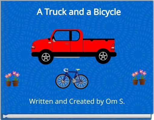 A Truck and a Bicycle