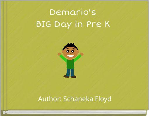 Demario's BIG Day in Pre K