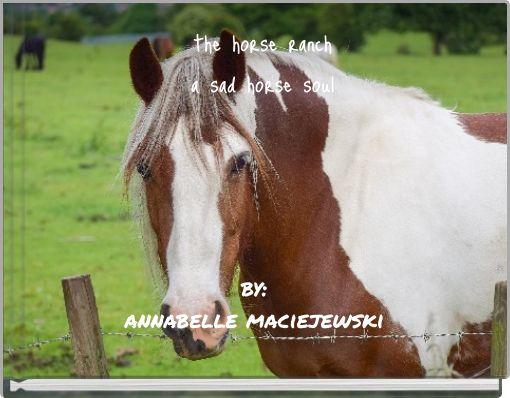 the horse ranch a sad horse soul
