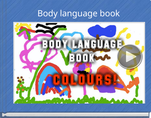 Book titled 'Body language book'