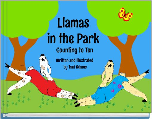 Llamas in the Park Counting to Ten