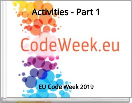 Activities - Part 1