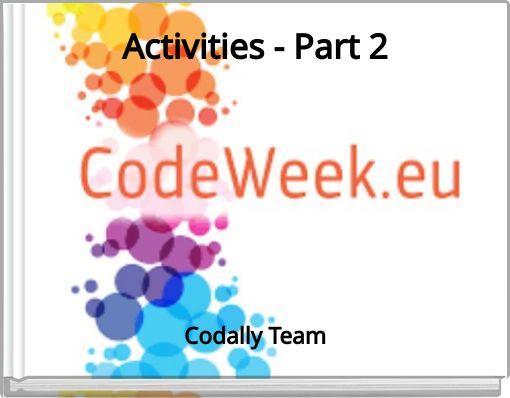 Activities - Part 2