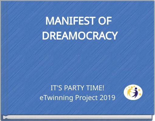 MANIFEST OF DREAMOCRACY