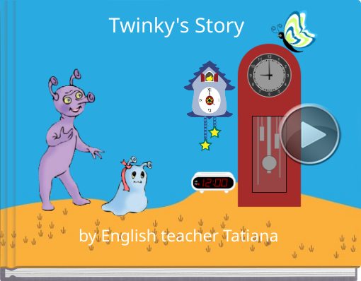 Book titled 'Twinky's Story'