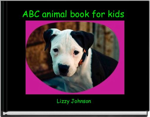 ABC animal book for kids