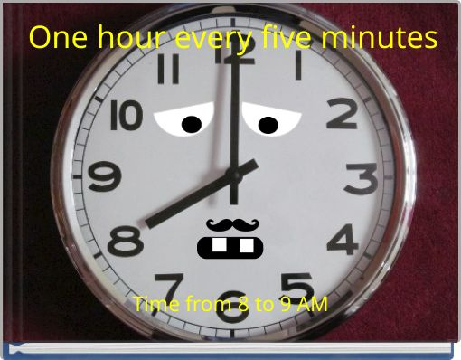 One hour every five minutes