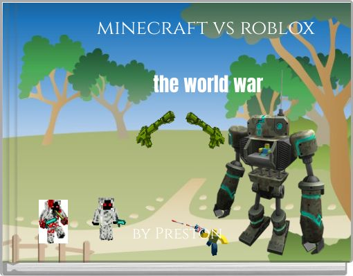 minecraft vs roblox the world war