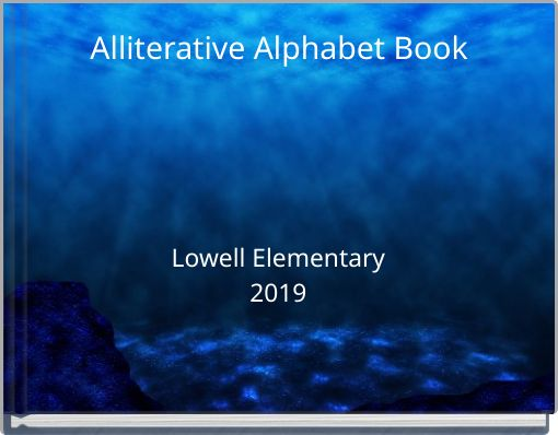 Alliterative Alphabet Book