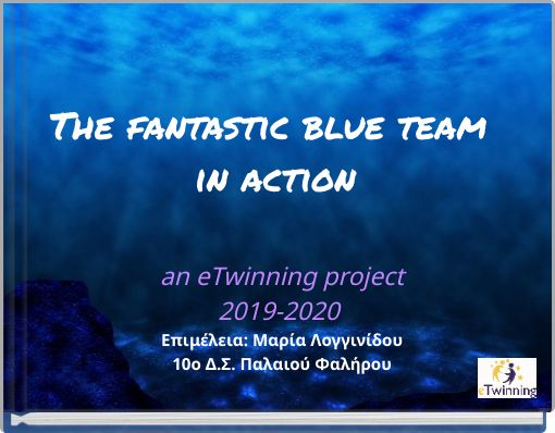 The fantastic blue team in action