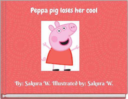 Peppa pig loses her cool