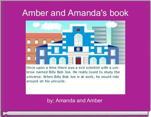 Amber and Amanda's book