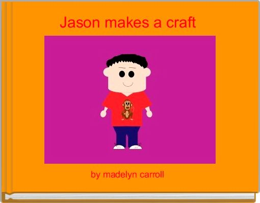 Jason makes a craft